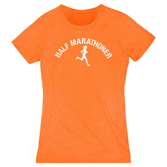 Women's Everyday Runners Tee - Half Marathoner Girl