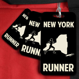 Bag/Luggage Tag New York State Runner Female