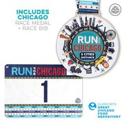 Virtual Race - Run For 5 Race Cities Challenge