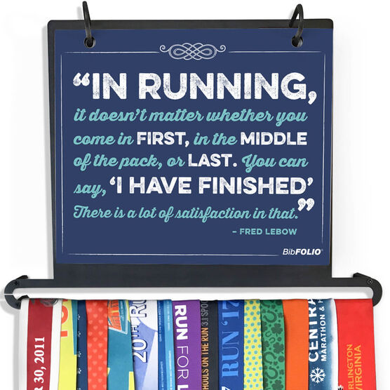 BibFOLIO+™ Race Bib and Medal Display - In Running