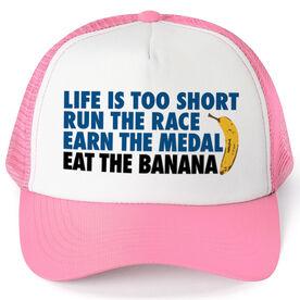 Running Trucker Hat - Eat The Banana