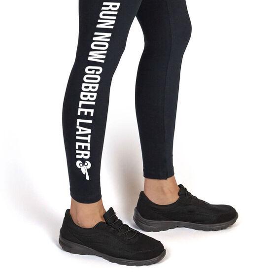 Running Leggings - Run Now Gobble Later