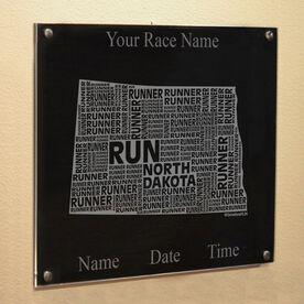 North Dakota State Runner Wall Art