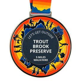 Hike/Walk Custom Race Medals