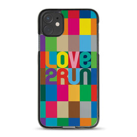 Running iPhone® Case - Love 2 Run (Color)