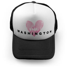 Running Trucker Hat Run Washington