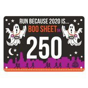 Virtual Race - Let's Run Because 2020 is Boo Sheet (2020)