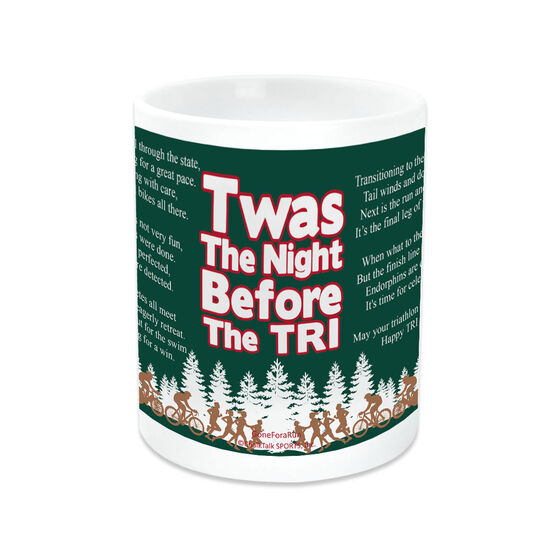 Triathlon Coffee Mug Twas The Night Before The Tri