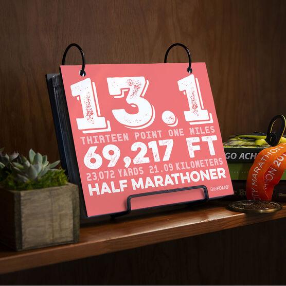 BibFOLIO® Race Bib Album - 13.1 Math Miles