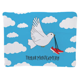 Running Baby Blanket - Running Bird