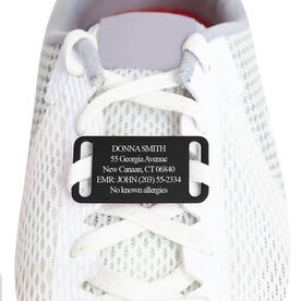 LACE-IT-UP IDmeBAND Engraved Shoe ID