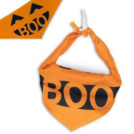 Dog Bandana - Pumpkin Boo