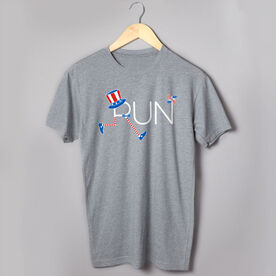 Running Short Sleeve T-Shirt - Let's Run for America