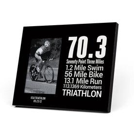 Triathlon Photo Frame - 70.3 Math Miles