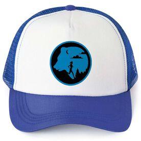 Running Trucker Hat - Bear Emblem Male Runner