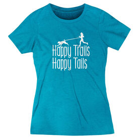 Women's Everyday Runners Tee - Happy Trails Happy Tails (VR)