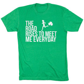 Running Short Sleeve T-Shirt - The Road Rises