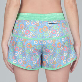 Women's Running Shorts - Will Run For Donuts
