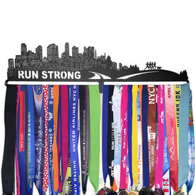 Extra Long Race Medal Hanger Run Strong MedalART