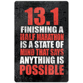 "Running 18"" X 12"" Wall Art - 13.1 Anything Is Possible"