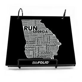 Georgia State Runner BibFOLIO