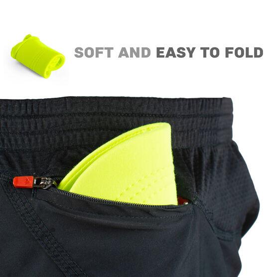 Running Comfort Performance Visor - Safety Yellow