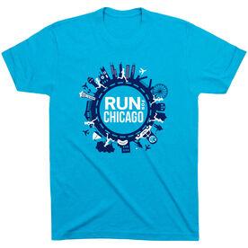 Running Short Sleeve T- Shirt - Run For Chicago