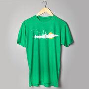 Running Short Sleeve T-Shirt - Runner Reflection