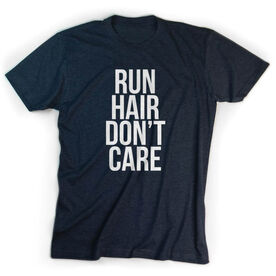 Running Short Sleeve T-Shirt - Run Hair Don't Care