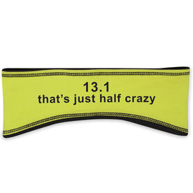 Running Reversible Performance Headband 13.1 That's Only Half Crazy
