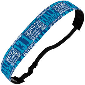 Running Julibands No-Slip Headbands - 13.1 Math Miles