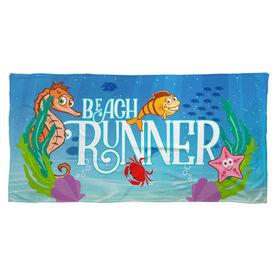 Running Beach Towel Beach Runner