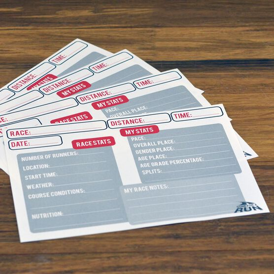 My Race STATS BibFOLIO® Journal Inserts - 1 Pack (12/pack)