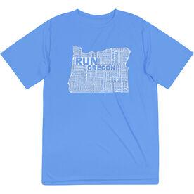 Men's Running Short Sleeve Tech Tee - Oregon State Runner