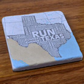 Texas State Runner Stone Coaster