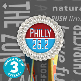 Race Hook Tag Philly 26.2
