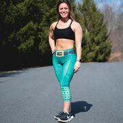 Running Performance Capris - Leprechaun