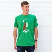 Running Short Sleeve T-Shirt - Run First Can