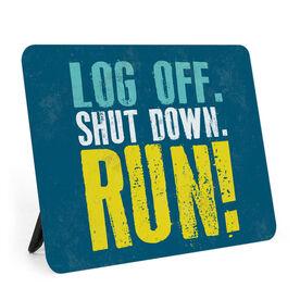 Running Desk Art - Log Off Shutdown Run