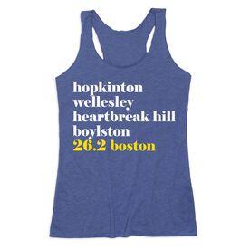 Women's Everyday Tank Top - Run Mantra - Boston