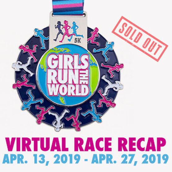 Virtual Race - Girls Run The World 5K (2019)