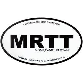 Running Car Magnet - Moms Run This Town FLIP
