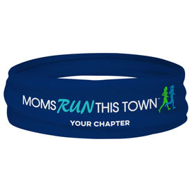 Running Multifunctional Headwear - Moms Run This Town Logo with Chapter Name
