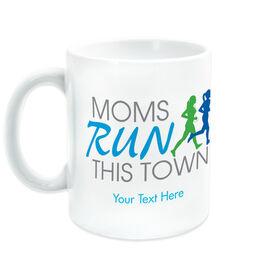 Running Coffee Mug - Moms Run This Town Logo