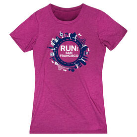 Women's Everyday Runners Tee - Run for San Francisco