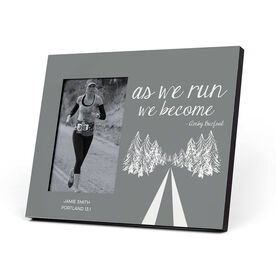 Running Photo Frame - As We Run We Become
