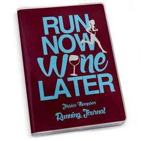 GoneForaRun Running Journal Run Now Wine Later