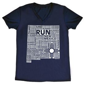 Women's Running Short Sleeve Tech Tee New Mexico State Runner