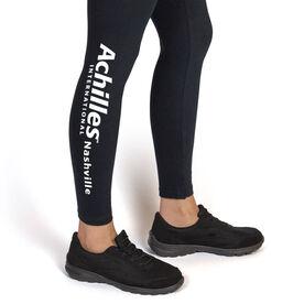 Running Leggings - Achilles International - Nashville Logo