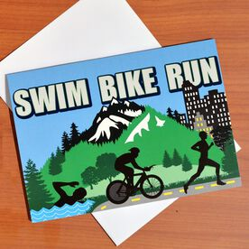 Tri Country Greeting Card